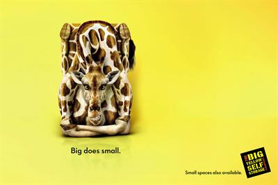 """The Big Yellow Self Storage Company """"big does small"""" by CHI & Partners"""