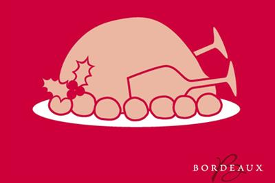 Bordeaux 'Xmas turkey' by Isobel