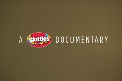 """Skittles """"struck by a rainbow"""" by BBDO Toronto"""