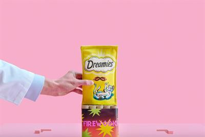 "Dreamies ""Impenetrable pack"" by Adam & Eve/DDB"