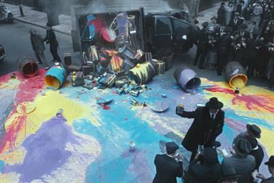 "Dulux ""colour prohibition"" by Bartle Bogle Hegarty"