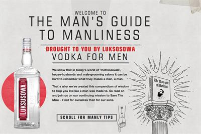 """Luksusowa """"the man's guide to manliness"""" by AnalogFolk"""