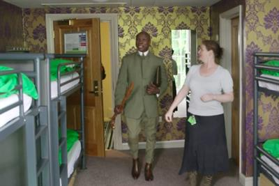 """Hostelworld """"hostelling with Chris Eubank"""" by Lucky Generals"""