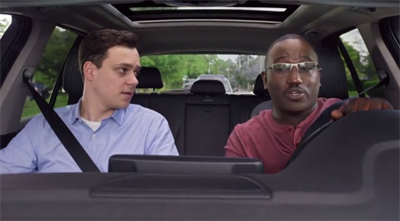 Look, Mom! Hannibal Buress drives with no hands