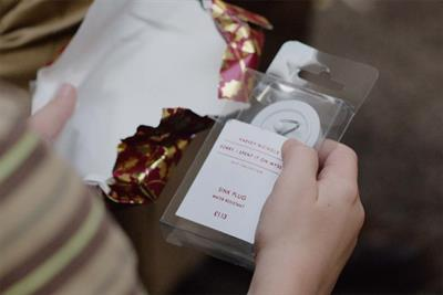 "Harvey Nichols ""sorry, I spent it on myself"" by Adam & Eve/DDB"