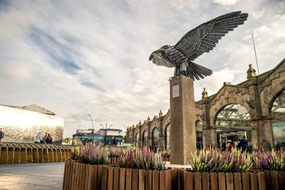 """Ikea """"Wonderful everyday tour: Allen the peregrine"""" by Mother"""