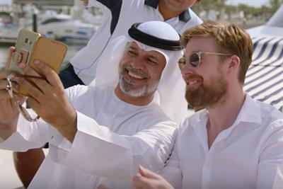"Etihad Airways ""Abu Dhabi 48-hour stopover challenge"" by Cheil London"