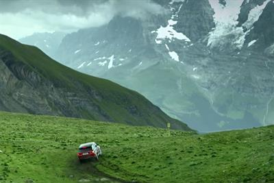 """Land Rover """"Range Rover Sport: Inferno downhill challenge"""" by Spark44"""