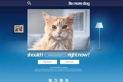 """O2 """"Be More Dog app"""" by Lida"""