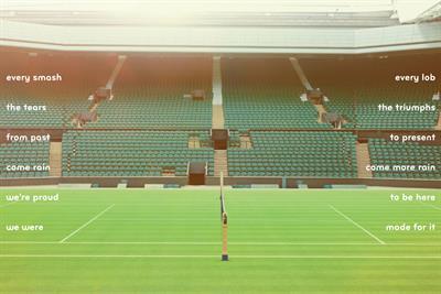 "Robinsons ""Wimbledon 2014"" by Bartle Bogle Hegarty"