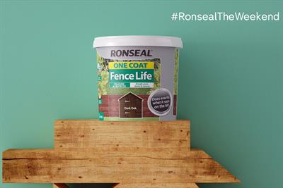 "Ronseal ""Ronseal the weekend"" by BJL"