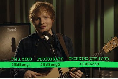 """Ed Sheeran """"album release"""" by Atlantic Records UK and the7stars"""
