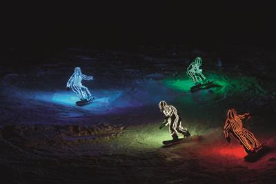 "Sony Mobile ""gliding lights"" by Adam & Eve/DDB"