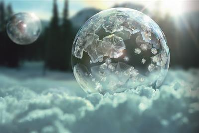 "Sony ""ice bubbles"" by Adam & Eve/DDB"