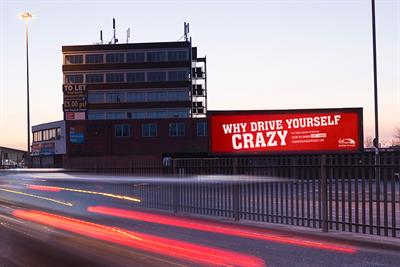 """Virgin Trains """"Why drive yourself crazy"""" by Manning Gottlieb OMD"""