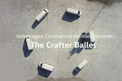 """Volkwagen Commercial Vehicles """"Crafter Ballet"""" by Subsero"""