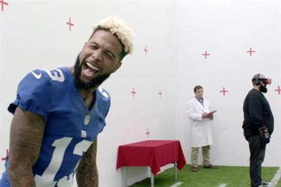 Odell Beckham's 'virtual' reality prank for Verizon is wonderfully cathartic
