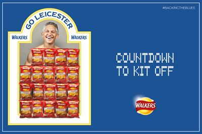 """Walkers """"countdown to kit off"""" by Abbott Mead Vickers BBDO"""