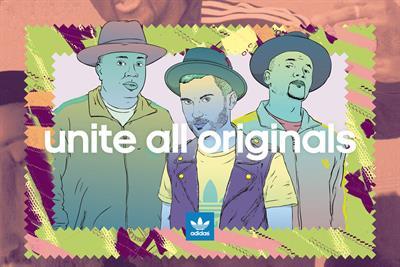 """Adidas """"unite all originals"""" by Sid Lee"""