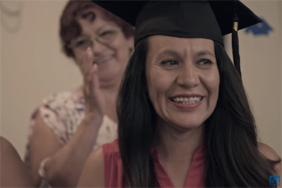 Ad Council throws parties for adults who finish their high school degrees