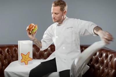 """Top Chef"" Michael Voltaggio makes a mess for Carl's Jr."