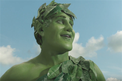 The Jolly Green Giant shows his new face in first work from Deutsch