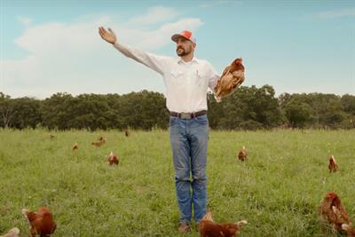 'Bullsh*t Free Eggs' for Vital Farms by Preacher