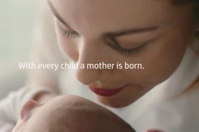 HP warms hearts with the Mother's Day reminder, 'with every child, a mother is born'