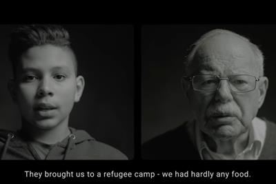 "Unicef ""80 years apart"" by 180 Amsterdam"