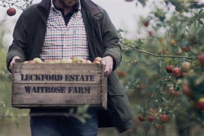"Waitrose ""the warmest season"" by Adam & Eve/DDB"