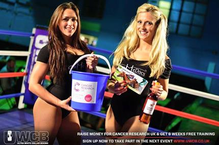 Cancer Research UK in discussions about use of 'ring girls' at charity boxing events