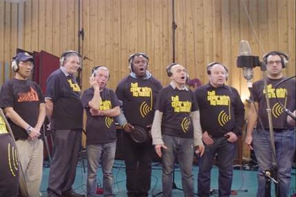 Watch: Homeless choir charity releases cover of song from The Greatest Showman
