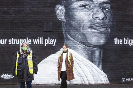 How Marcus Rashford took FareShare to the top of the national agenda