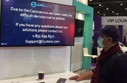 Coronavirus impacts Cloud/Cyber Expo but the show goes on despite some absences