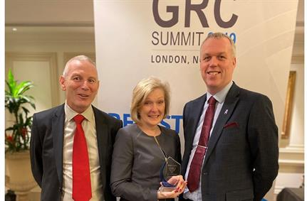 Department for Work & Pensions (DWP) wins GRC award