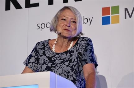 InfoSecurity 2019: Kate Adie keynote.  Resilence in the face of adversity