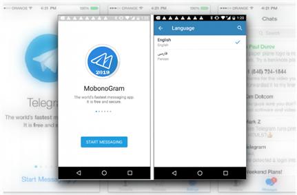 Unofficial Telegram app secretly loads malicious sites