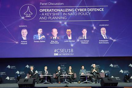 CSEU 2018: Nato grappling with implications of cyberspace as domain of warfare