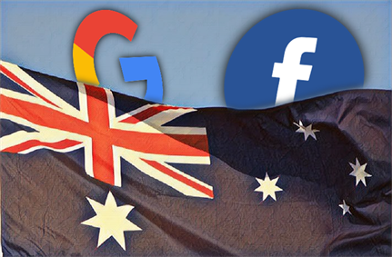 Australia restricts Facebook and Google use of personal data