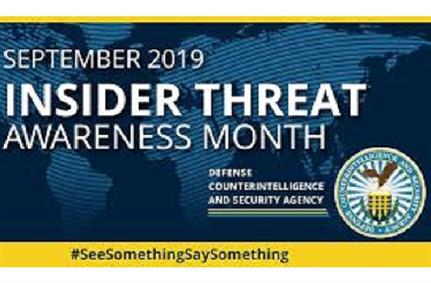 Insider-threat awareness month - Why businesses need to remain vigilant