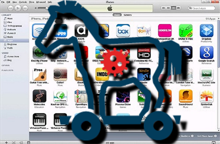 Apple Store had apps infected with clicker trojan malware