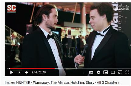 WANNACRY: THE MARCUS HUTCHINS STORY. Video now out.