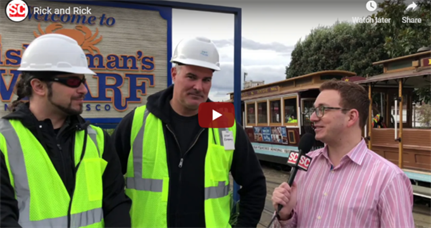 Trolley Talk, RSA 2019 edition: cable car chats (video)