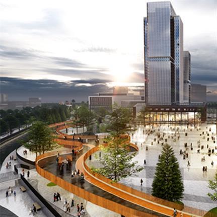 2021 WAN Awards entry: CRRC Qingdao Si Fang Locomotive Park Landscape Design - Antao Design