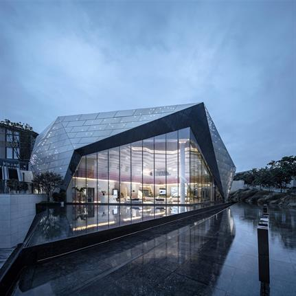 2020 WAN Awards entry: The River One sales center - Shanghai PTArchitects