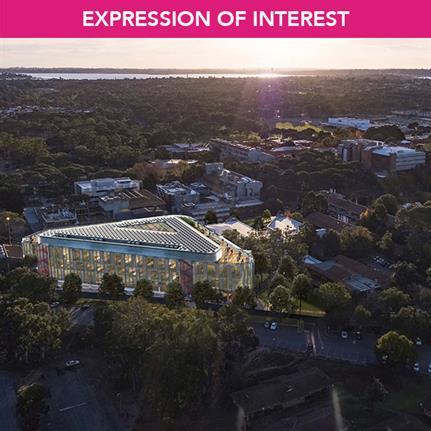 Lead Design Consultant opportunity for Super Sciences Building, Perth, Australia