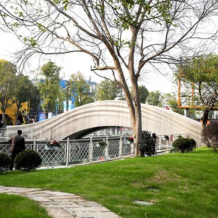 2019 WAN Awards: 3D Printed Pedestrian Bridge - XWG Arch-Studio