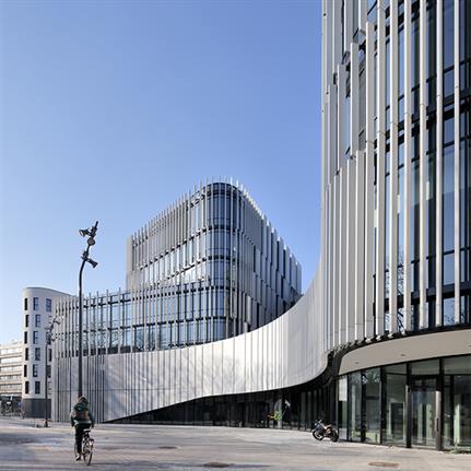 2021 WAN Awards entry: Etterbeek City Hall - BAEB and Jasper-Eyers Architects