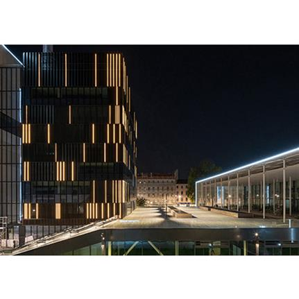 2021 WAN Awards entry: Pau Republic Complex Market Hall and Office Tower - Ameller Dubois