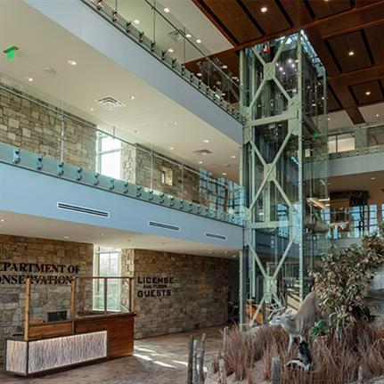 2021 WAN Awards entry: Oklahoma Department of Wildlife Conservation, Renovation and Expansion - Beck Design
